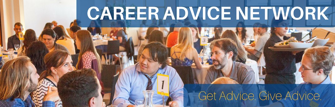 Give Advice. Get Advice. Join the Career Advice Network.