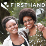 Photo of alumni and firsthand.co logo